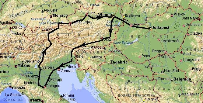strada per budapest | pagina 1 | i forum di camperonline